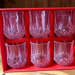 Box Set Of 6 Cristal d'Arques Liqueur Glass